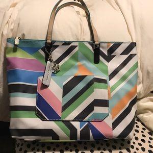 Trina Turk multicolor geometric tote new w/o tags